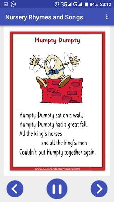 Nursery Rhymes Videos Songs - screenshot
