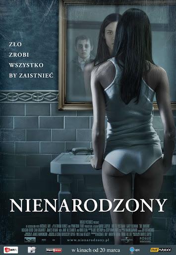 Polski plakat filmu 'Nienarodzony'