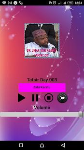 Dr. Sani Umar R/lemo - Tafsir 2017 - náhled