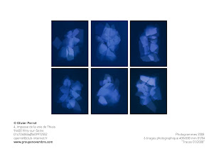 """Photo: © Olivier Perrot 2008 """"traces"""" 6 tirages argentique 40x50cm www.olivierperrot.fr contact operrot@club-internet.fr"""