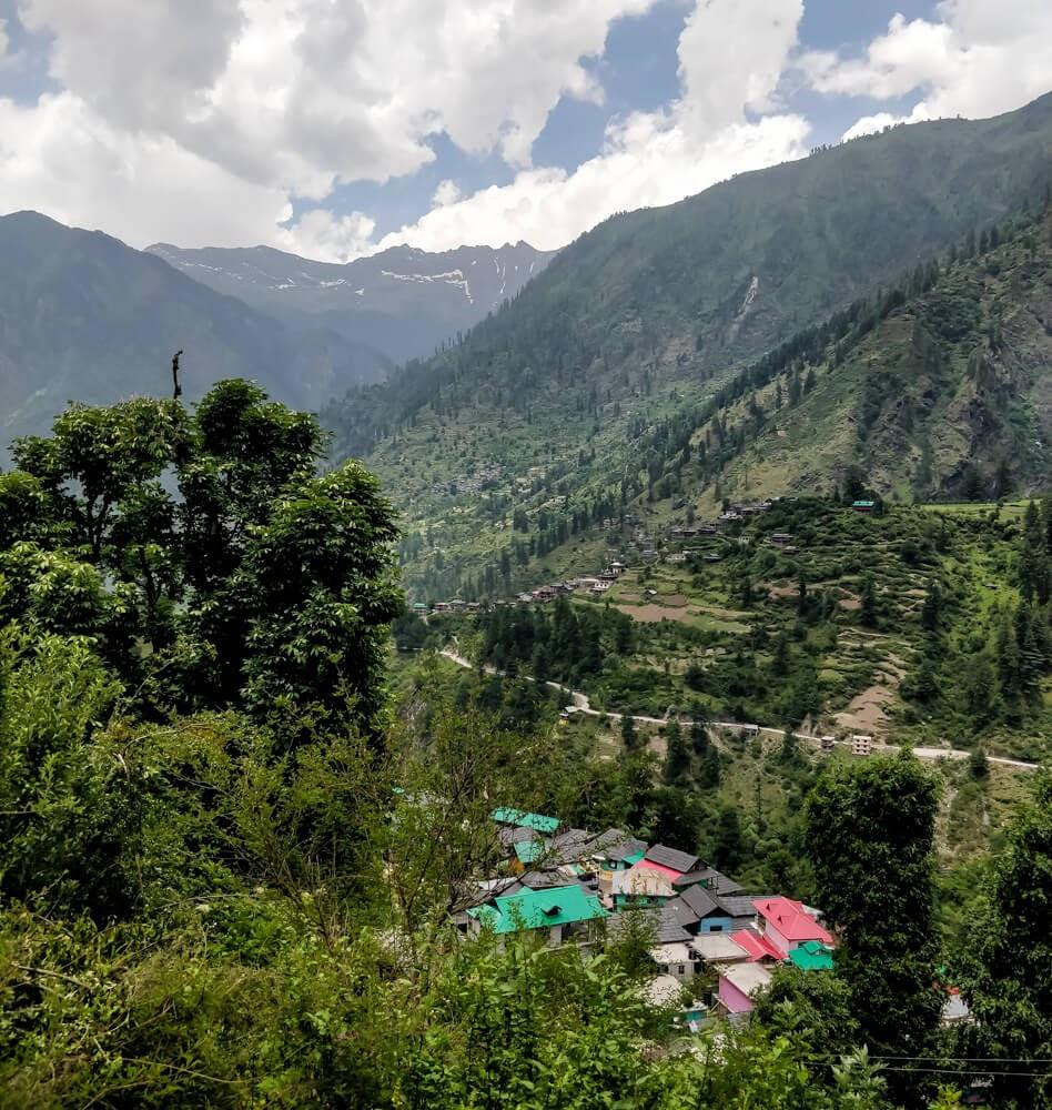 topview+shilla+village+manikaran+parvati+valley+himachal