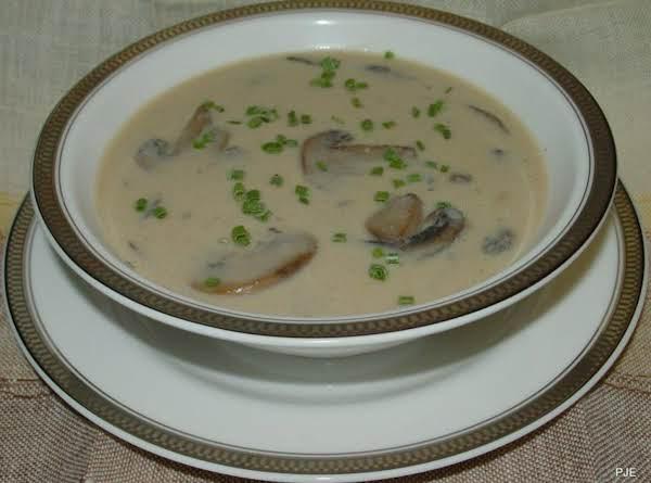 Pam's Luscious Shroom Soup Recipe
