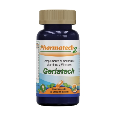Multivitaminico Geriatech Pharmatech x 60 Capsulas Blandas
