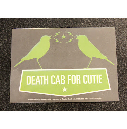 Death Cab For Cutie - Klistermärke