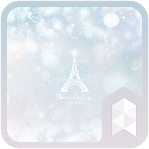 Bling Bling Winter Paris Live Launcher theme (app)