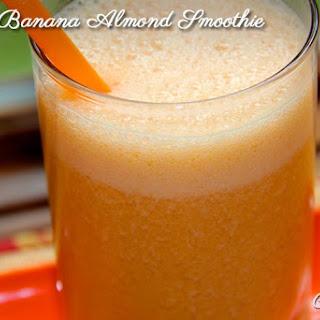 Carrot Banana Almond Smoothie