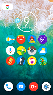 Aplicații Pixel Nougat - Icon Pack pentru Android screenshot
