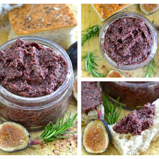 Fig and Black Olive Tapenade with Rosemary