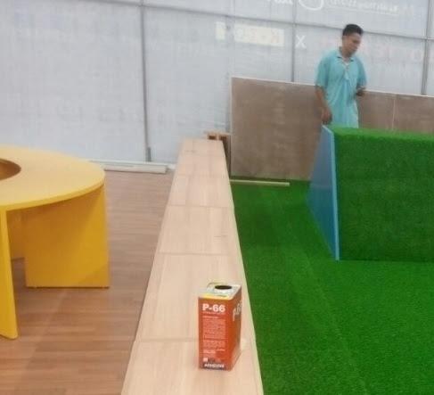 Nhìn thấy tất cả khung cảnh đó chính là Thảm sân golf