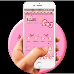 Kitty Pink Princess Icon