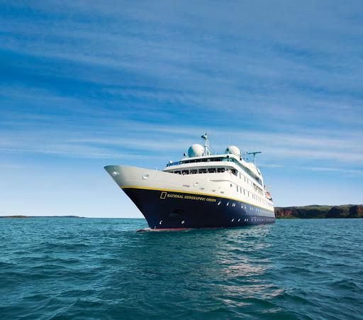 Enjoy a Lindblad Expedition sailing to Antarctica, the Arctic or Europe aboard National Geographic Orion.