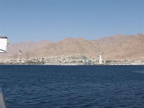 Photo: pohled na Aqabu