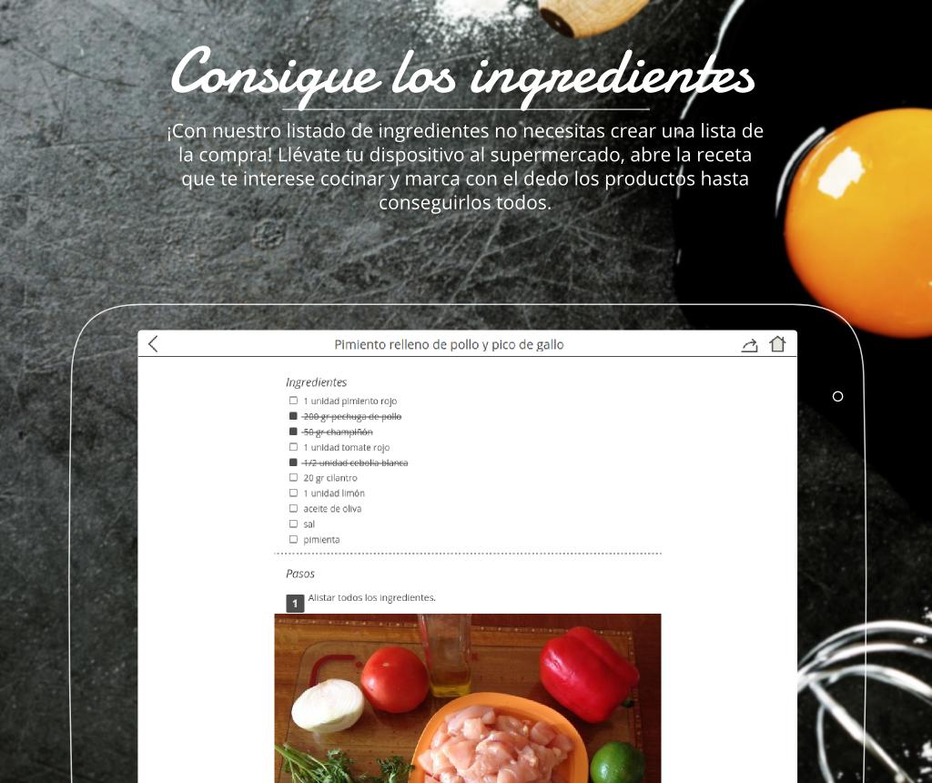 Recetas de cocina gratis aplicaciones de android en for App para disenar cocinas