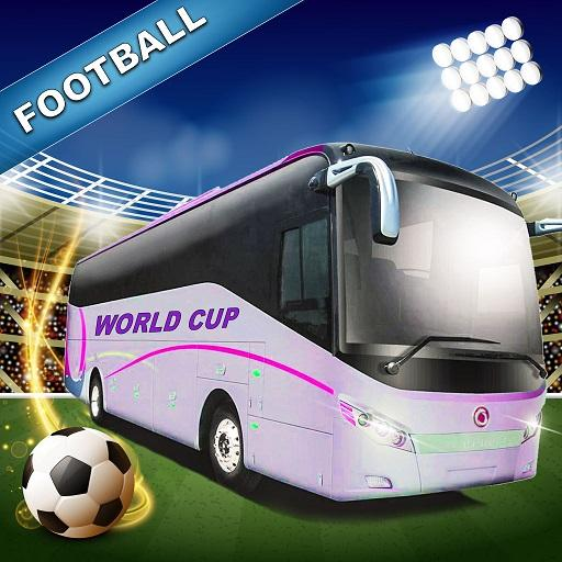 Football Team Bus: Fans Players Bus Driver RUSSIA