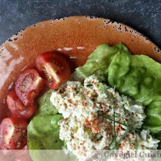 Quick Crab Salad Lettuce Wraps.