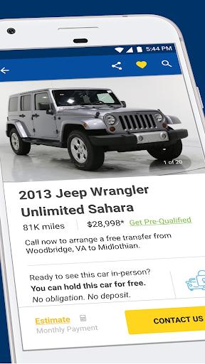 CarMax u2013 Cars for Sale: Search Used Car Inventory  screenshots 1