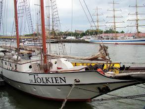 Photo: #011-Journée à l'Armada 2008. Le JR Tolkien, le bateau pour le déjeuner.