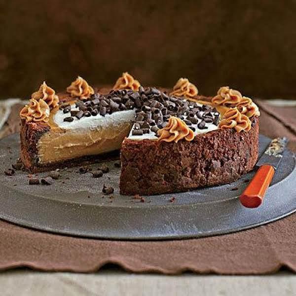 Peanut Butter Chocolate Cheesecake  (cinderella) Recipe