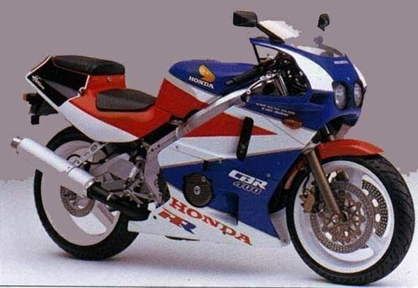 Honda CBR 400 RR-hurricane-manual-taller-despiece-mecanica