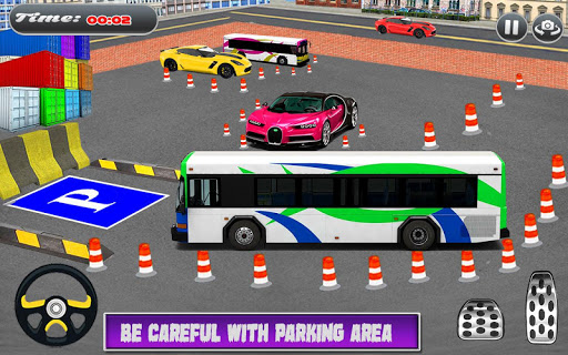 City Coach Bus Simulator Parking Drive 1.0.0 screenshots 14