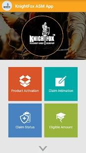 KnightFox ASM App - náhled