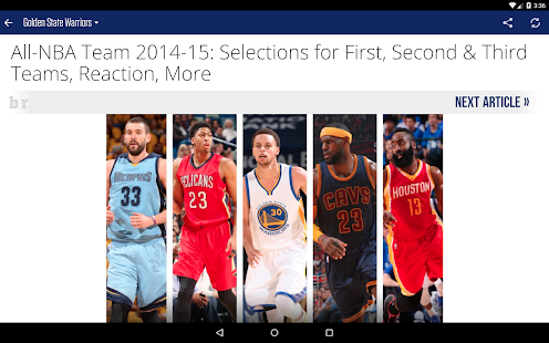 Team Stream by Bleacher Report- screenshot thumbnail