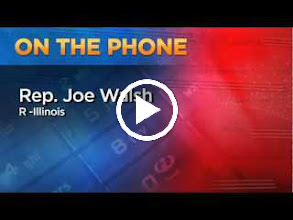Video: Dec. 6: Rep. Joe Walsh discusses his letter to the Brady Campaign about holding a Second Amendment debate.