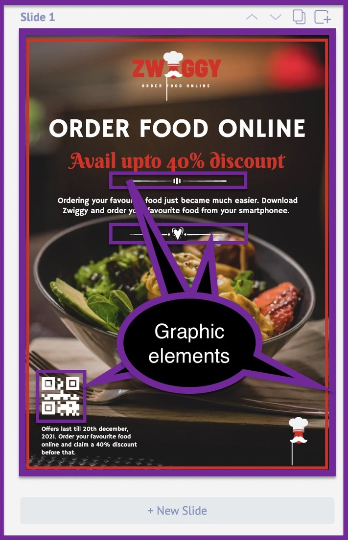 How to create a business flyer - step 5 -screenshot 2
