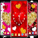 Love Analog Clock ❤️ Watch Live Wallpaper Hearts icon