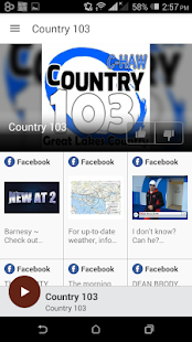 Country 103- screenshot thumbnail
