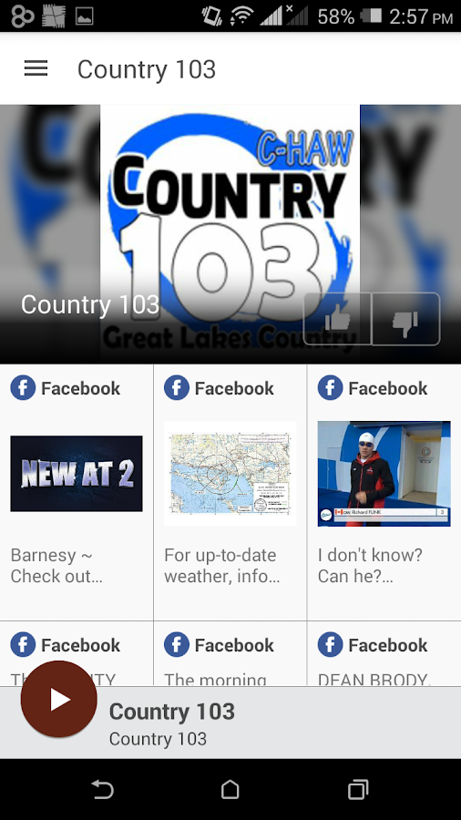 Country 103- screenshot