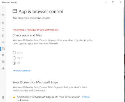 App & Browser Control