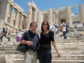 Photo: The Parthenon, built for the goddess Athena