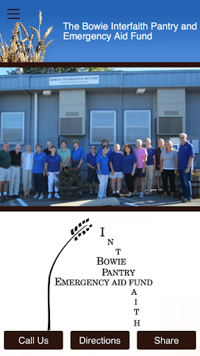 Bowie Interfaith Food Pantry