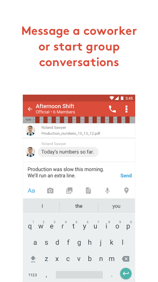 Zinc - Enterprise Messaging- screenshot