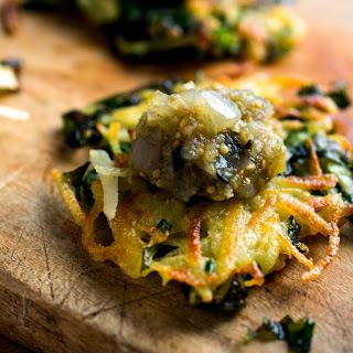 Leek, Kale and Potato Latkes