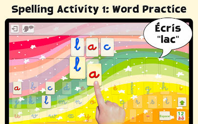 French Word Wizard - Learn to read and spell APK screenshot thumbnail 11