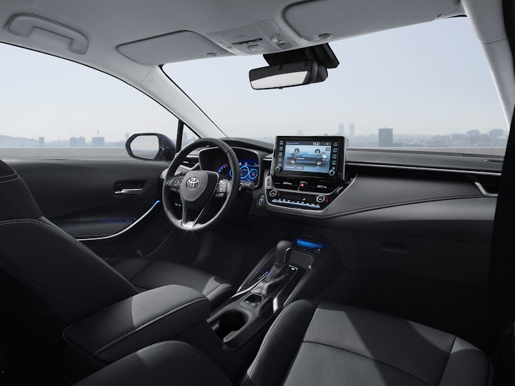 The new interior is packed full of technology. Picture: SUPPLIED