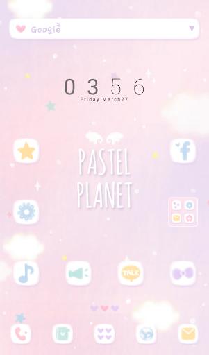 Pastel Planet 도돌런처 테마