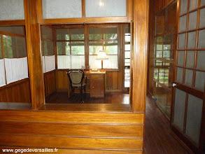 Photo: #016-La maison sur pilotis, le bureau d'Hô Chi Minh