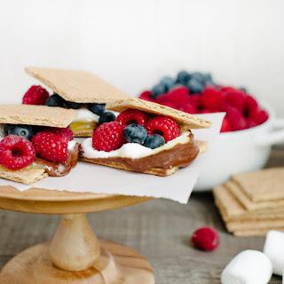 Coconut Jam Berry S'mores