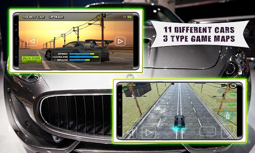Luxury Car Game : Endless Traffic Race Game 3D 3