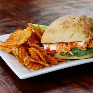 Buffalo Chicken Salad Sandwich.