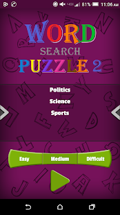 Word Search Puzzle 2 – Words Free Game Make- screenshot thumbnail