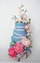 Photo: Peony and Dogwood Cake by CourtHouse Cake Company, LLC (3/4/2012) View cake details here: http://cakesdecor.com/cakes/8595