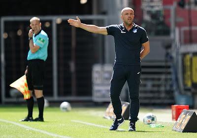 Hoffenheim se sépare de son entraîneur