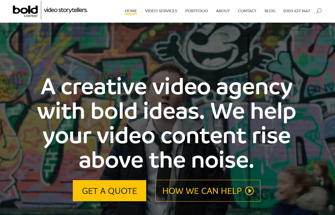 Best London Creative Video Agency - Bold Content