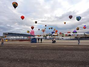 Photo: walk way to the balloon field
