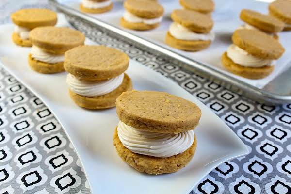 Spiced Sweet Potato Sandwich Cookies Recipe