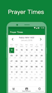 Muslim lite - Qibla Compass , Prayer Times ,Azan - náhled